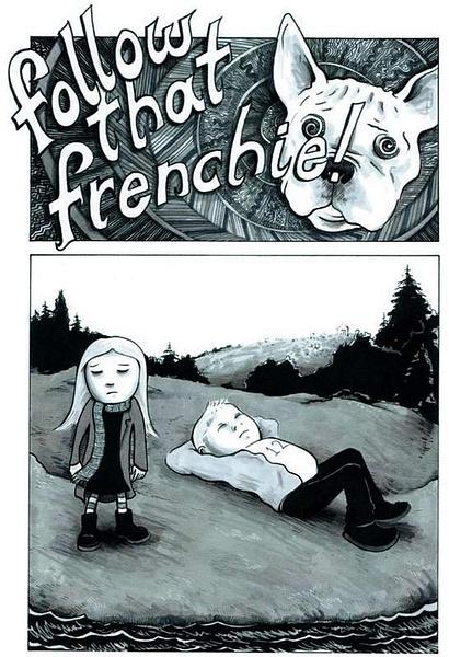 frenchie1 by Ingapetrova