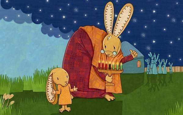 grandmaandrabbit by Ingapetrova