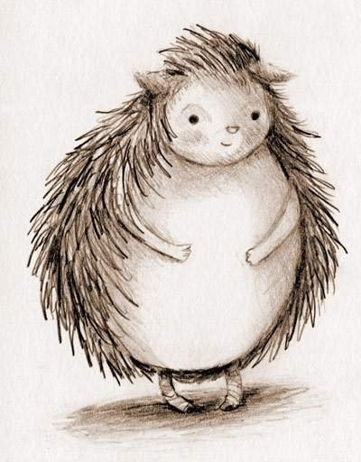 hedgehoggraegin by Ingapetrova