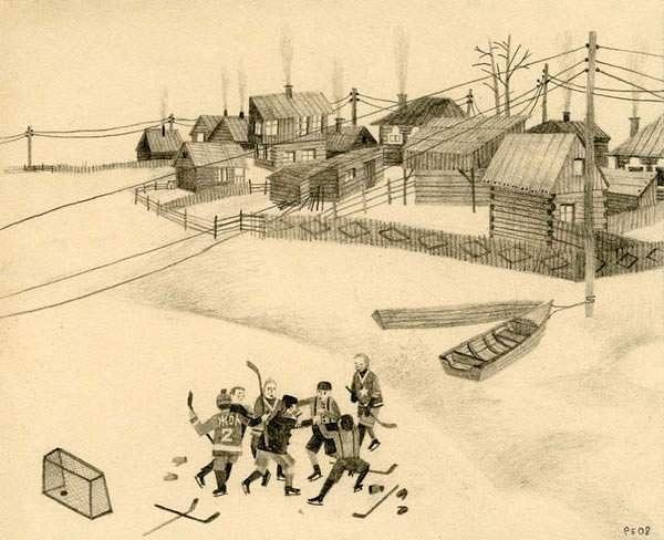 hockey-fight by Ingapetrova