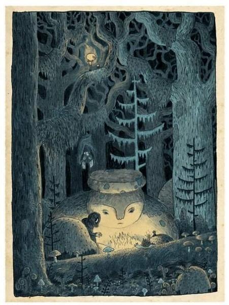 inthehowlingforest by Ingapetrova