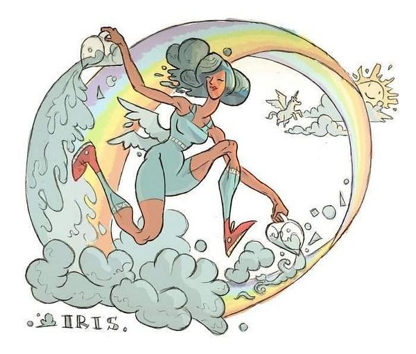 iris-the-goddess-of-rainbows by Ingapetrova