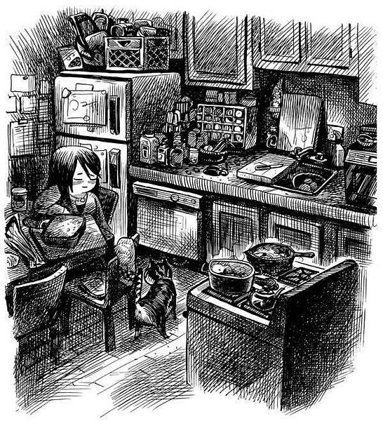 kitchensketch by Ingapetrova