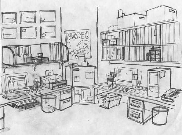 libraryoffice by Ingapetrova