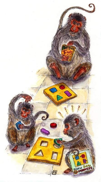 monkeygames by Ingapetrova