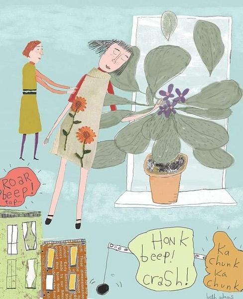 plantgirl by Ingapetrova