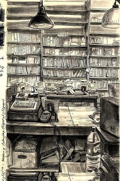sketchofmyopicbooks by Ingapetrova