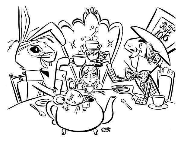 tea-party by Ingapetrova