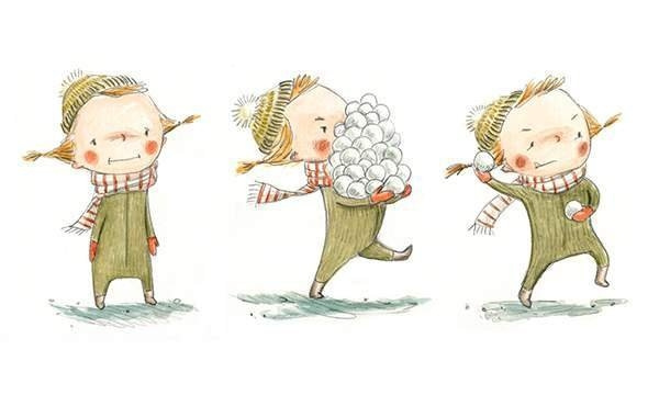 snowballs by Ingapetrova