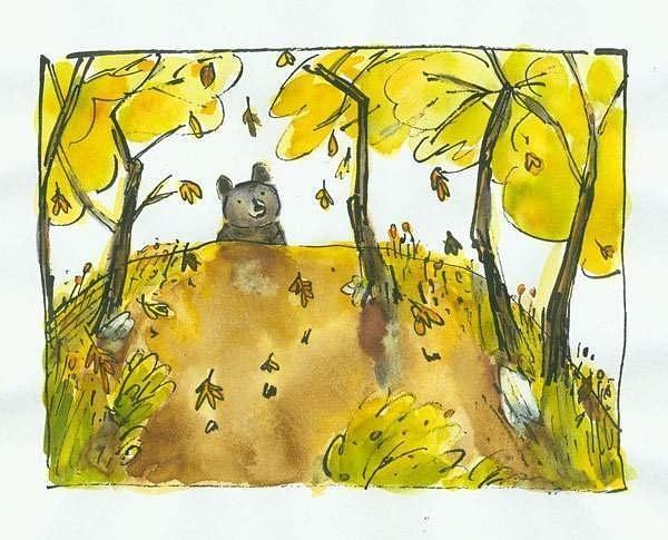 the-leaves-were-falling by Ingapetrova
