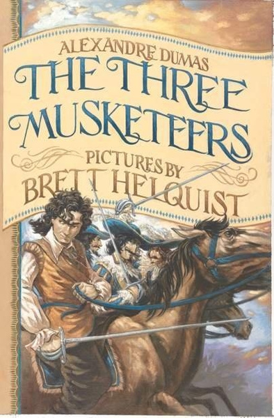 the-three-musketters-cover by Ingapetrova