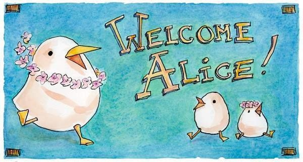 welcome-alice by Ingapetrova