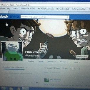 Brawsing facebook
