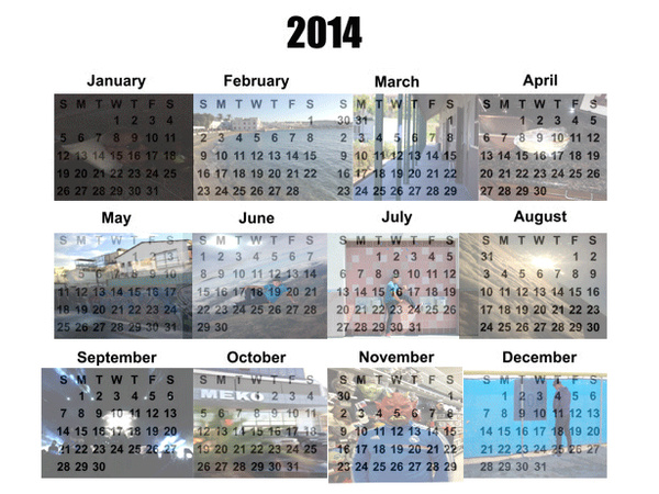 Calender by MarkParra