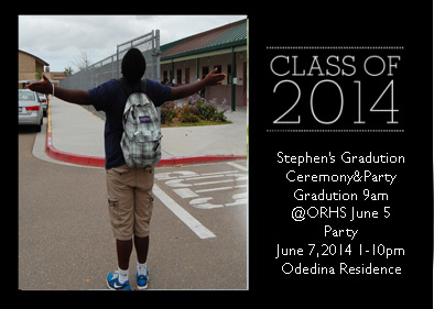 Graduation Announcement by MarkParra