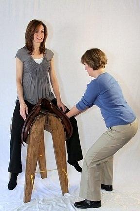 emily clark saddle by CatherineUlrey