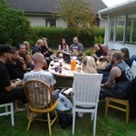 BBQ with some music colleagues from metal bands Revengia and Hoggatah, July 27, 2013