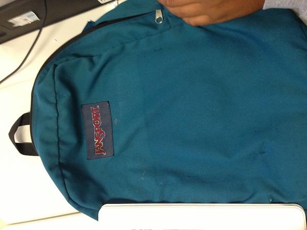 jansport backpack by CarlosSaldana724