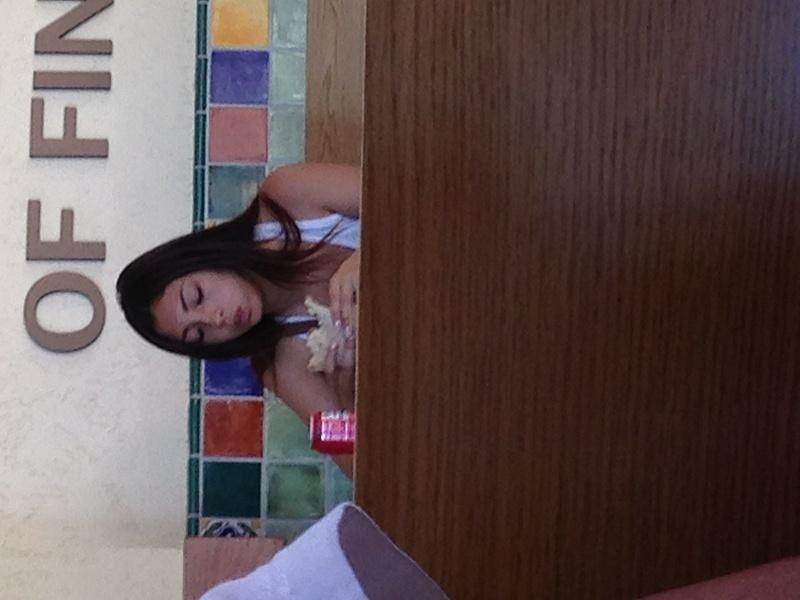 my friend eating at lolitas