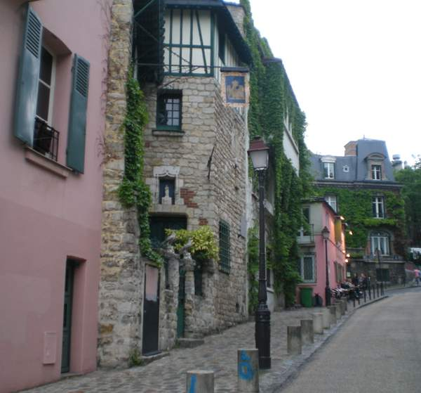 A Street in Paris