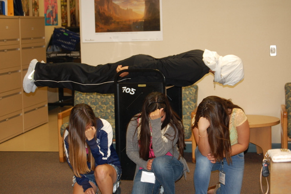 Planking/Tebowing by CynthiaOsorio