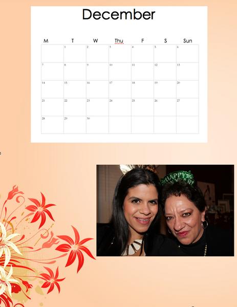 Proyect 8 Calendar by ValeriaOmana