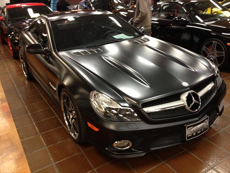 Mercedes SL65 AMG Black Edition