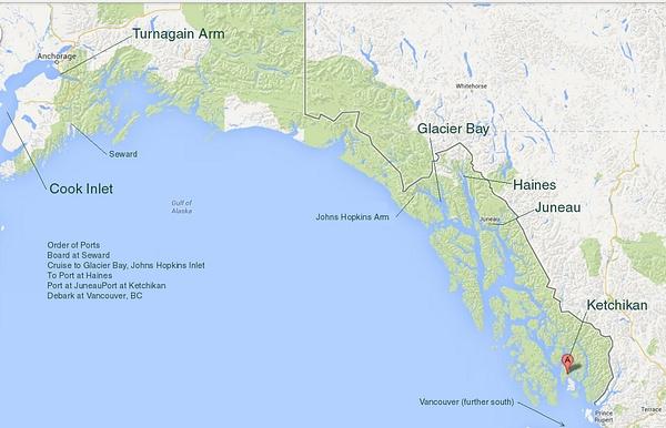 Gulf of Alaska Sat Image by Verryl V Fosnight Jr