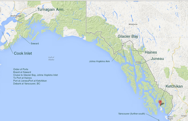 Gulf of Alaska Sat Image