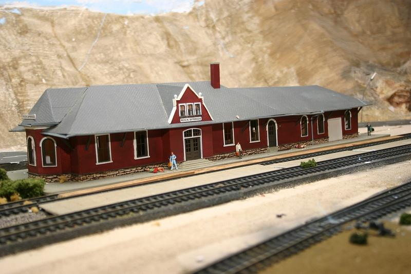 Rock Springs trackside 1