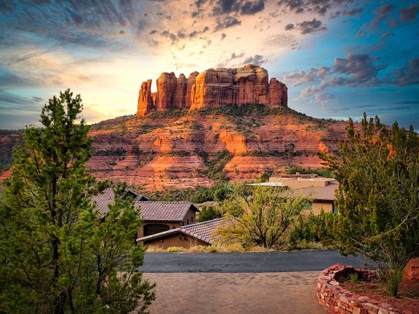 Sedona Red Rocks by Verryl V Fosnight Jr