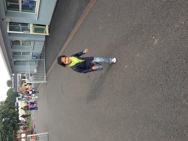 Kia's First School Day by EktaChopra