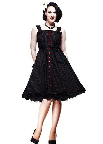 Hell Bunny Dresses - Gery's 50's Dress Red - www.jackoflondon.co.uk by JackPitar