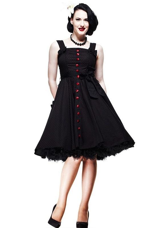 Hell Bunny Dresses - Gery's 50's Dress Red - www.jackoflondon.co.uk