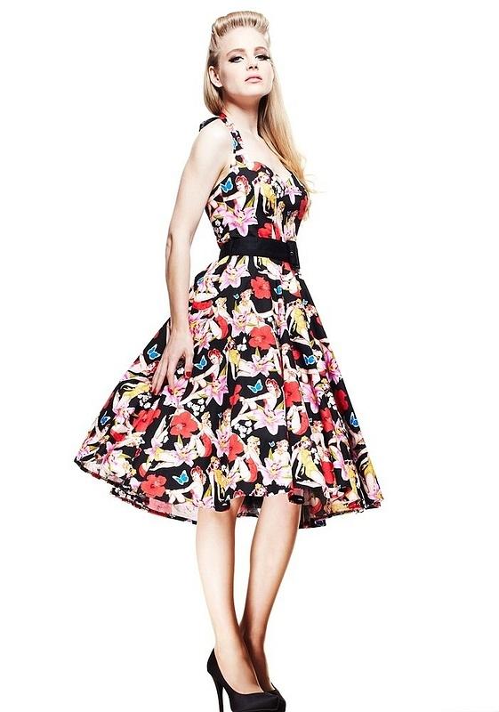 Hell Bunny Dresses - Hawaii's 50 Dress - www.jackoflondon.co.uk