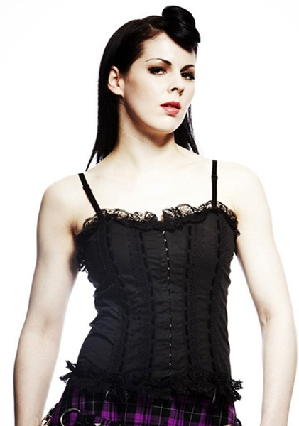Hell Bunny Dresses - Roxanne Corset - www.jackoflondon.co.uk by JackPitar