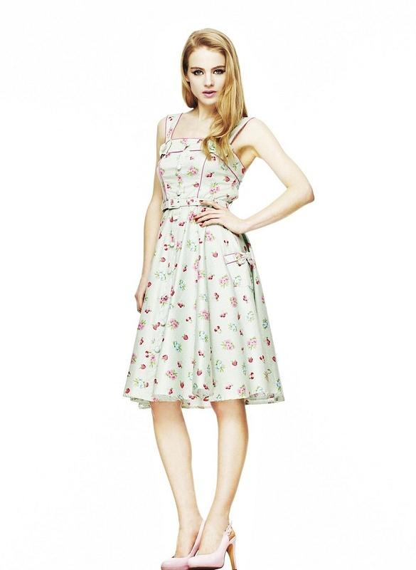 Hell Bunny Dresses - Tigerlilli Dress - www.jackoflondon.co.uk