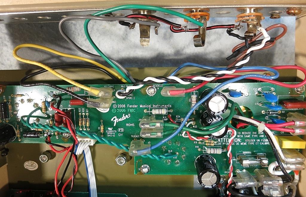 output transformer hook up