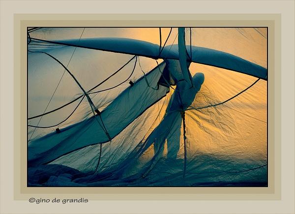 'Icaro-si-prepara' by Gino De  Grandis