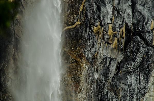 waterfall in Yosemite by Gino De  Grandis