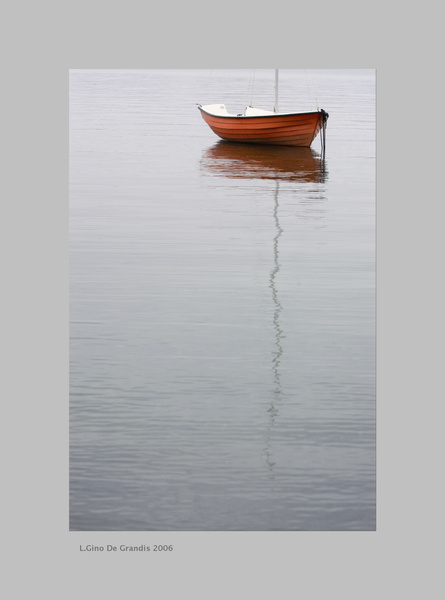 Red-Boat by Gino De  Grandis