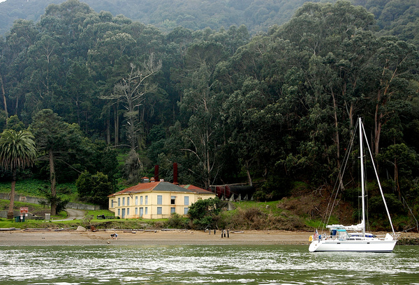 SAILING around Angel Island, California by Gino De ...