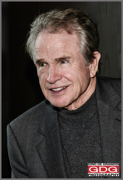 Warren Beatty by Gino De  Grandis