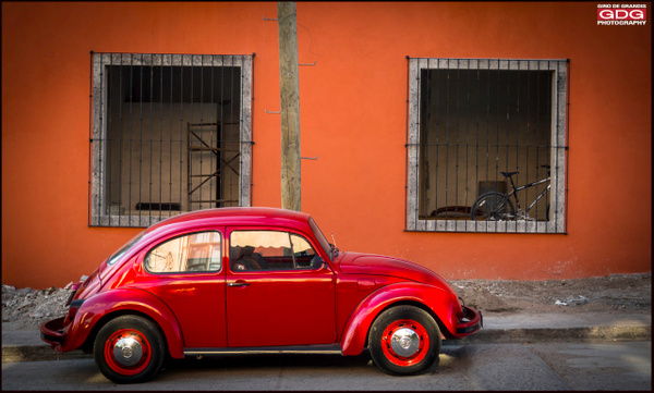 Red Bug- Mexico by Gino De  Grandis