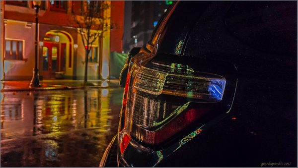 wet  evening by Gino De  Grandis