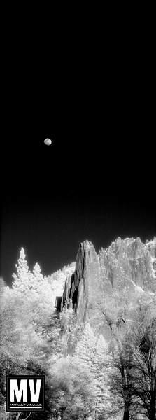Moon Over Sentinel Rocks, Yosemite