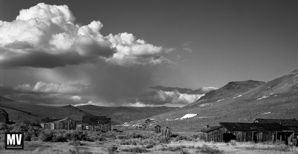 Thunderhead Over Bodie by Michael Mariant