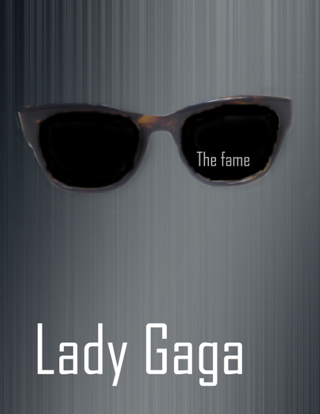 lady gaga  the fame by JaredVazquez
