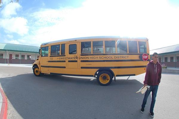 school bus by JaredVazquez