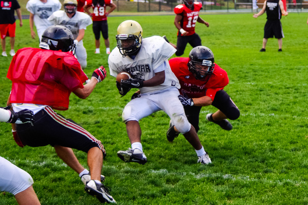 Varsity Scrimmage vs Eaglecrest and South by DaveTweed